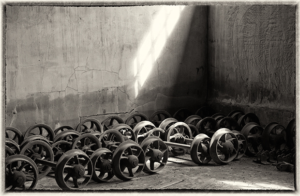 Coal Car Wheels