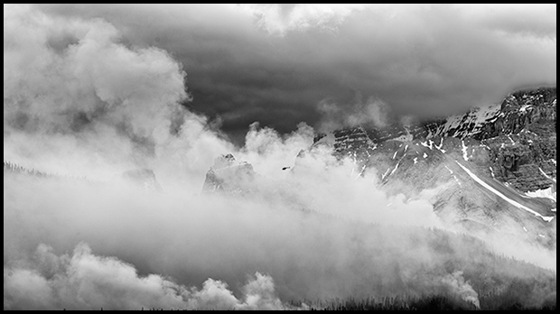 Smoke over the slopes of Mount Murchison, Nikon D800E, Nikkor 70-300mm f/4.5-5.6 ©Mark Degner