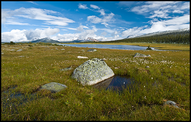 Looking North in the Tonquin Valley, Nikon D300, Nikon 12-24mm f/4, ©Leslie Degner