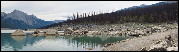 Medicine Lake Pano from North end
