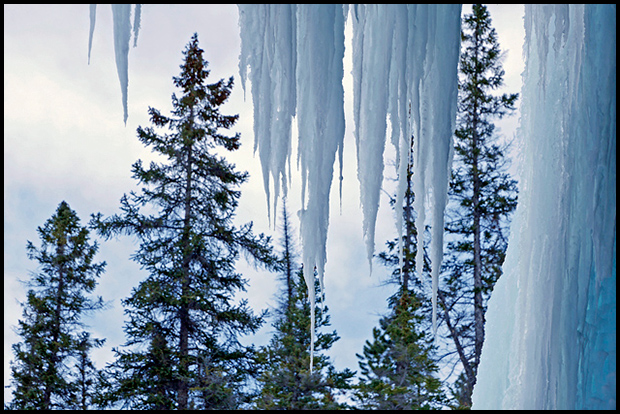 Frozen Curtain, ©Alan W. Ernst