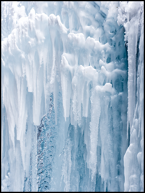 Ice formation, Jasper National Park