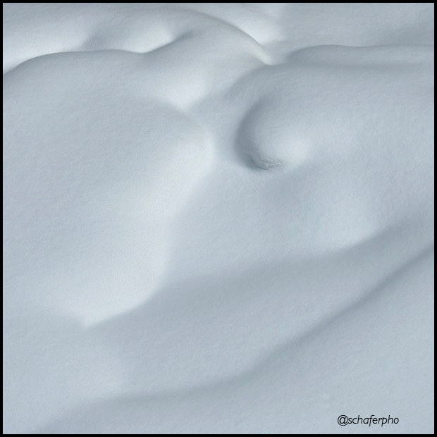 Shapes in the snow